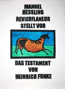 testament plakat